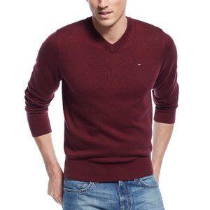 Tommy Hilfiger Men's V-Neck Pacific Pullover